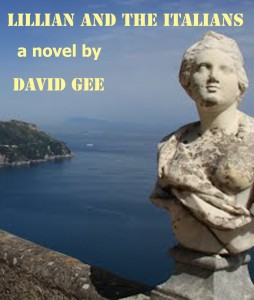 This is an alternative idea for the cover. The 'Terrace of Inifinity' of the Villa Cimbrone in Ravello, where Viurginia Woolf and Greta Garbo stayed (not together!).