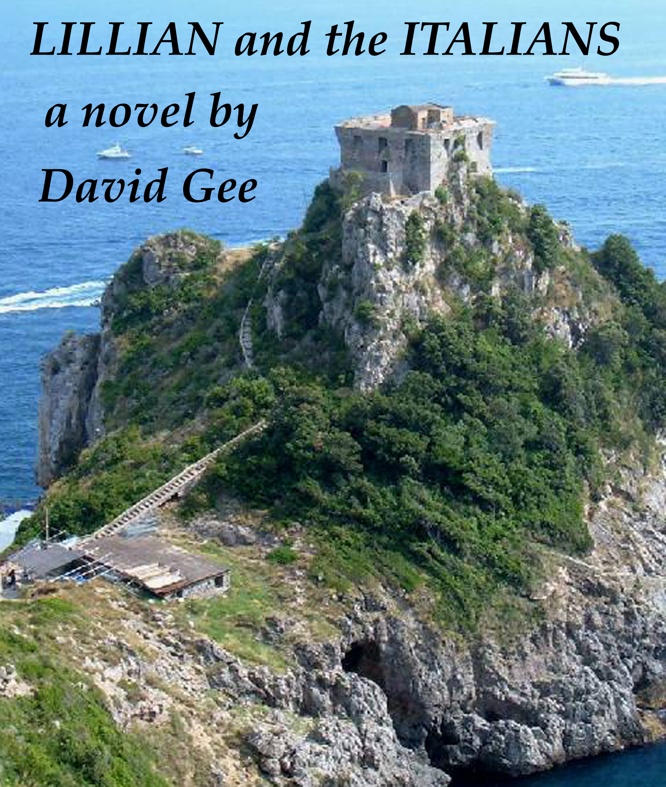 This fortress - outside Amalfi - is from the Saracen era. It's the setting for almost a third of the story.