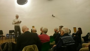 Reading from THE BEXHILL MISSILE CRISIS at Peckham Library, a Paradise Press event, March 2015